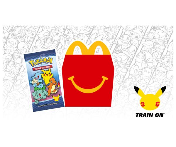Pokemon 25th Anniversary McDonalds Promotion Set
