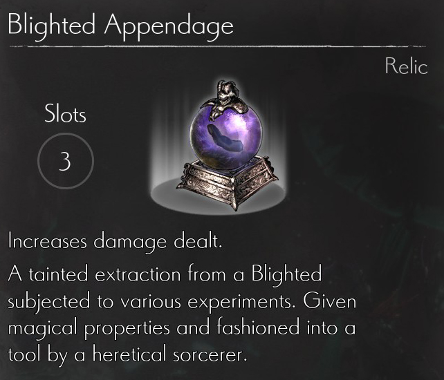Blighted Appendage