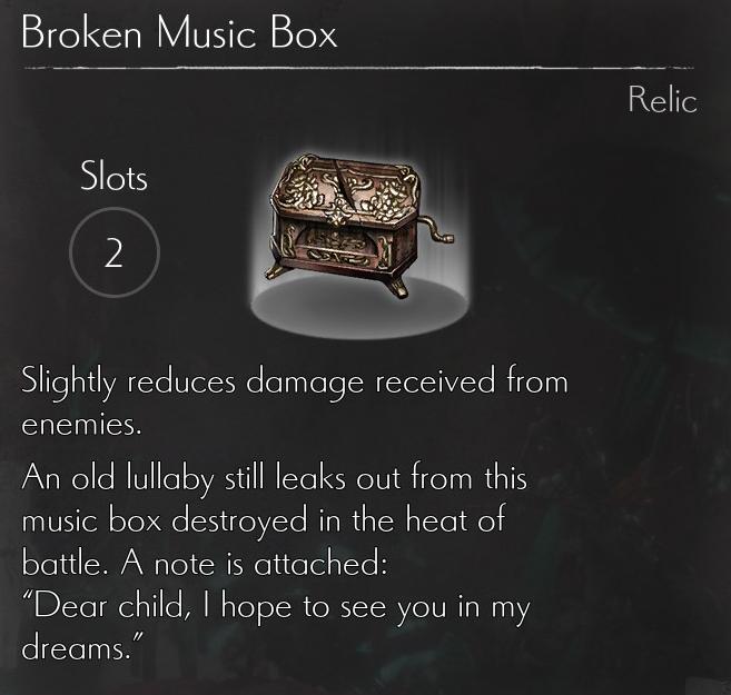 Broken Music Box