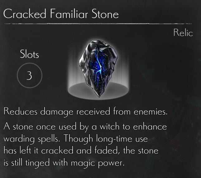 Cracked Familiar Stone