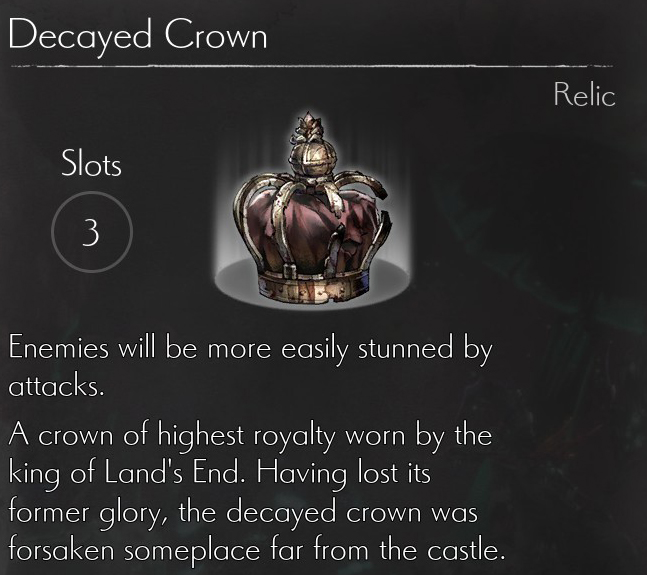 Decayed Crown