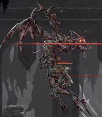 Ender Lilies Giant Dragon