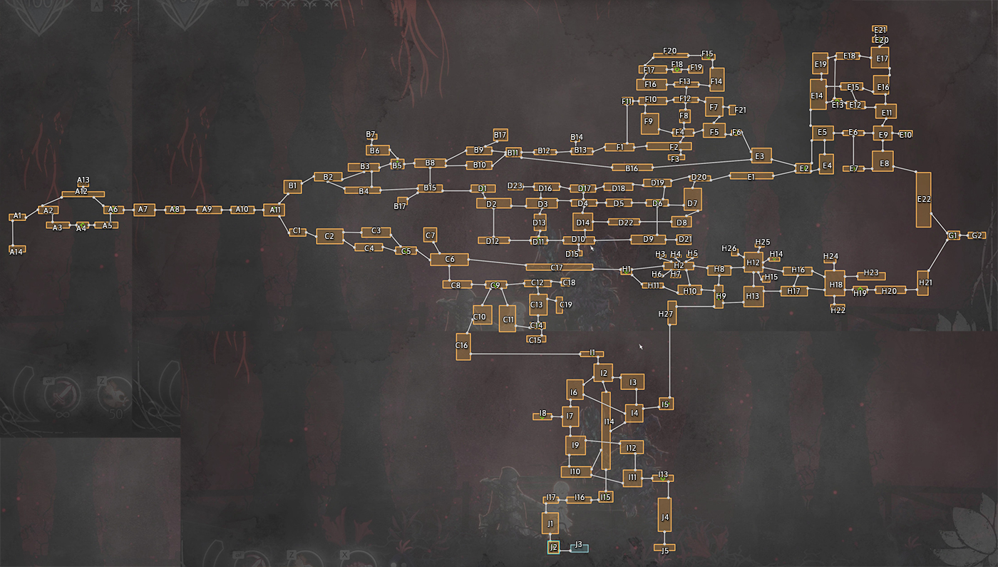Ender Lilies Full Map