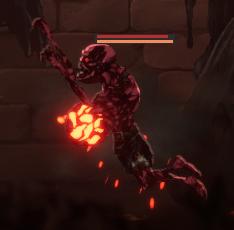 Ender Lilies Exploding Ogre