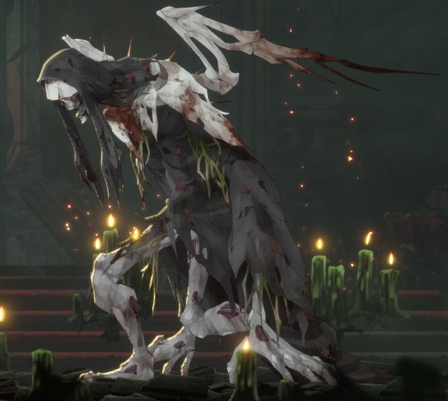 Guardian Siegrid Boss - Ender Lilies