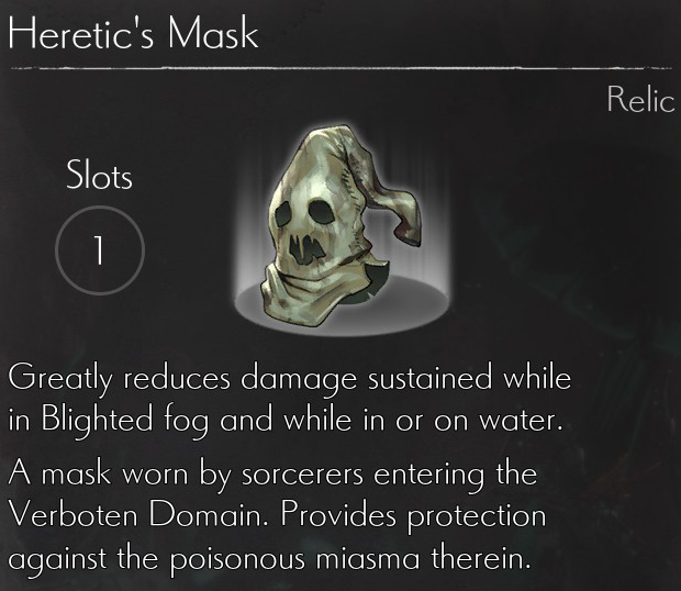 Heretic's Mask