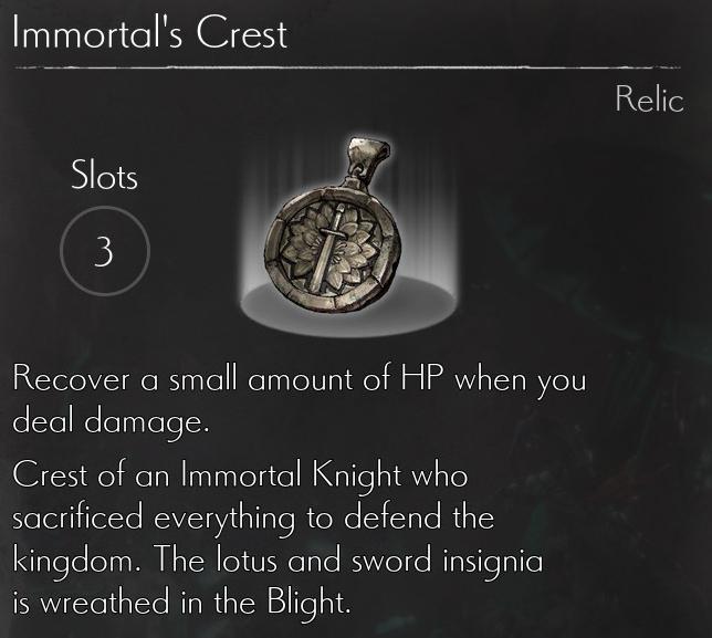 Immortals Crest