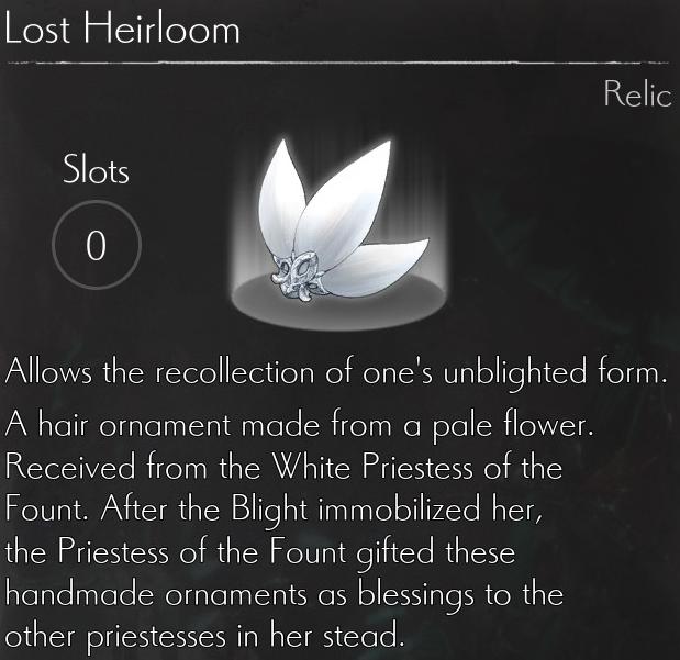 Lost Heirloom