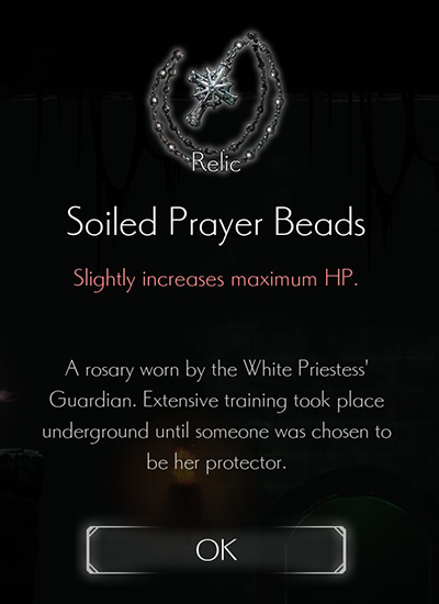 Solid Prayer Necklace Relic