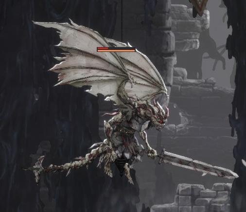 Ender Lilies Sword Dragon