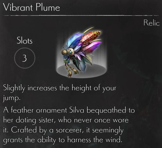 Vibrant Plume