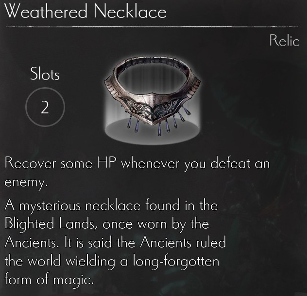 Weathered Necklace