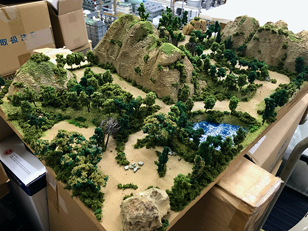 Southern Forest Diorama