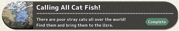 Calling All Cat Fish