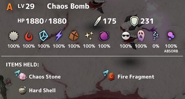 Chaos Bomb Lv 29