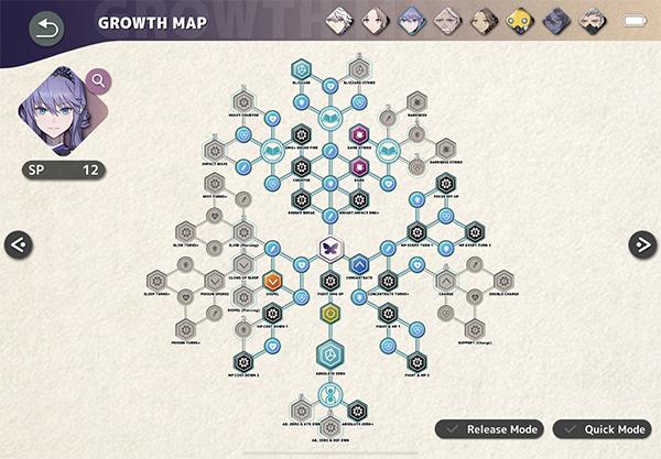 Cheryl Growth Map