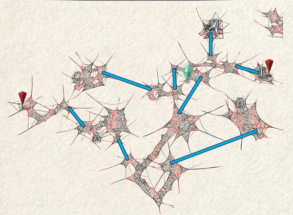 Communication Network Map