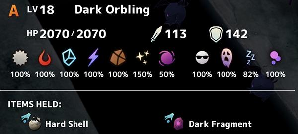 Dark Orbling