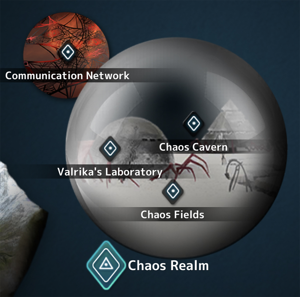 Chaos Realm World Map