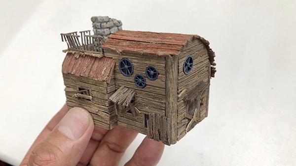 Diorama Fantasian Building