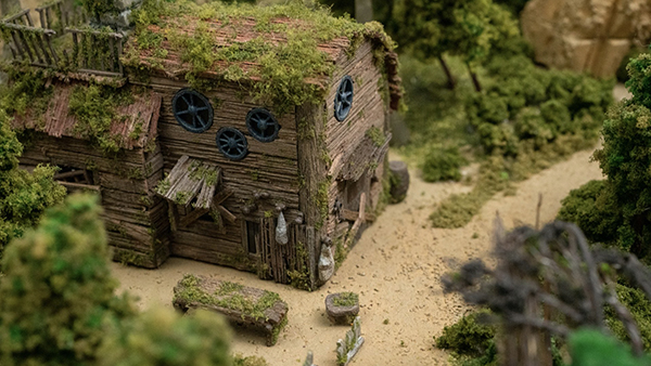 Fantasian Diorama Southern Forest