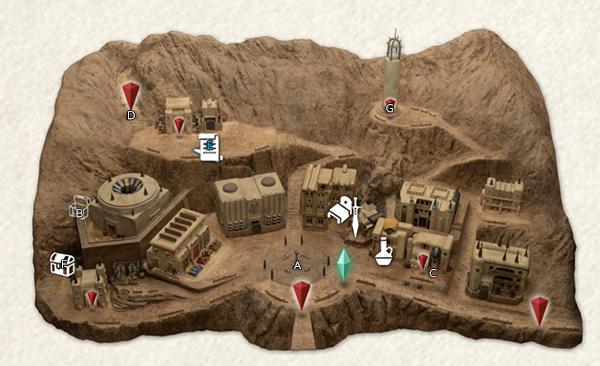 Frontier Town Of En - Map