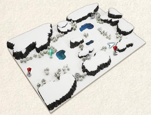 Frozen Tundra - Center Map