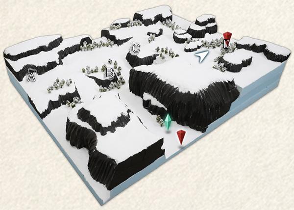 Frozen Tundra Map