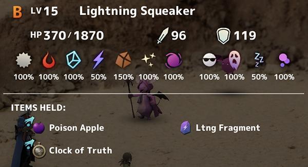 Lightning Squeaker