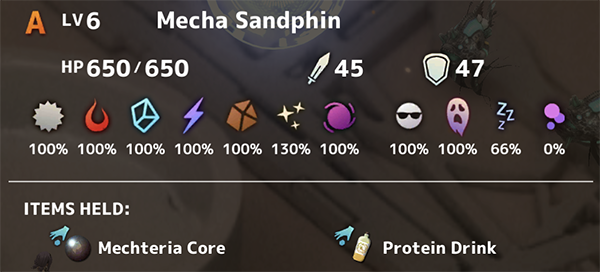 Mecha Sandphin