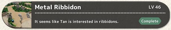 Metal Ribbidon Quest