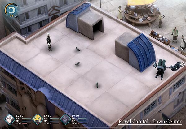 Missing Robot - Royal Capital Town Center