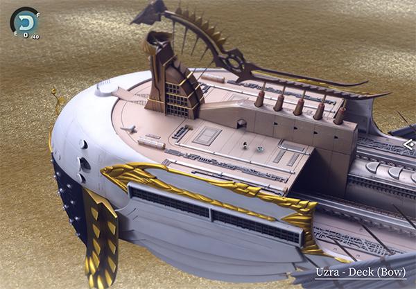 Uzra - Deck (Bow)