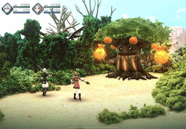 Money-Money Tree Boss Battle - Fantasian