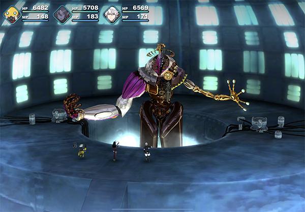 Omega Boss Fight