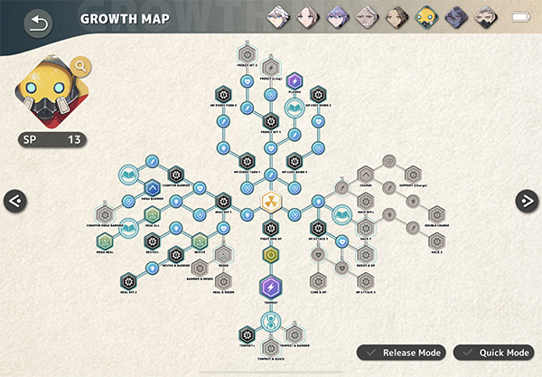Prickle Growth Map