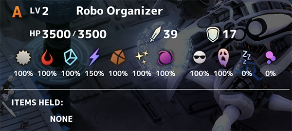 Robo Organiser Fantasian
