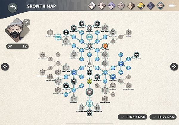 Tan Growth Map