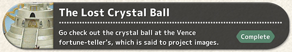 The Lost Crystal Ball