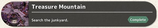 Treasure Mountain Quest