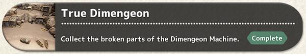 True Dimengeon - Quest Fantasian