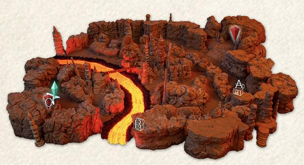 Volcanic Cavern - Lava Stream