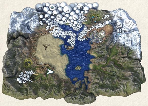 World Map Fantasian