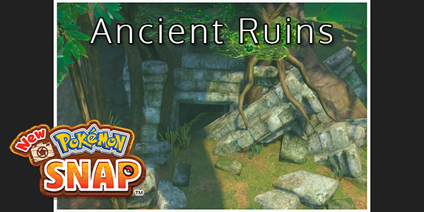 New Pokemon Snap - All Ancient Ruins Locations