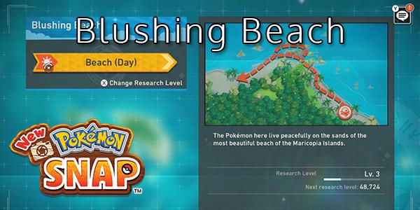 New Pokemon Snap - Blushing Beach - Pokemon List