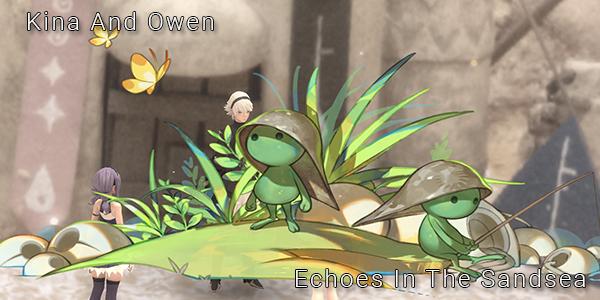 Fantasian - Kina and Owen - Echoes In The Sandsea - Part 19 - Walkthrough