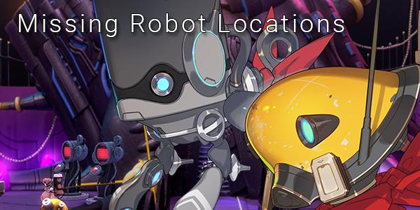 Fantasian Missing Robots Locations - Restoring the Base