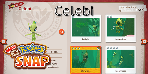 New Pokemon Snap - How To Find Celebi (All Stars)