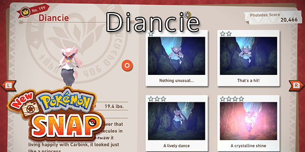 New Pokemon Snap - How To Find Diancie (All Stars)
