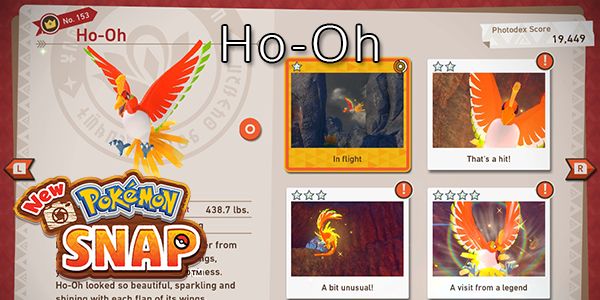 New Pokemon Snap - How To Find Ho-Oh (All Stars)